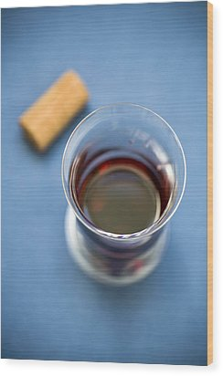 Wine Tasting Wood Print by Frank Tschakert