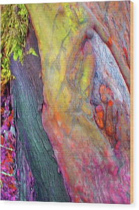 Wood Print featuring the digital art Winning Ticket by Richard Laeton