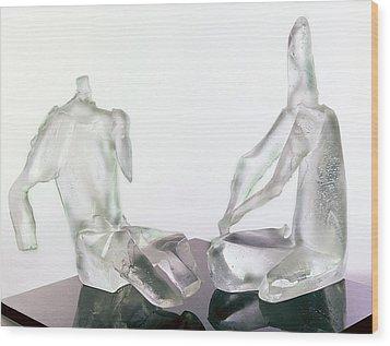 Winter Lovers 2005 Wood Print by Zoja Trofimiuk