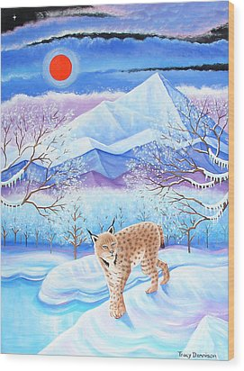 Winter's Eve Wood Print