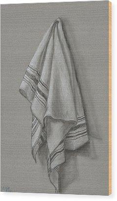 Wipe It Away Wood Print by Michelle Wolff