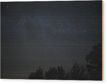 Wish Upon A Star Wood Print by Sara Hudock