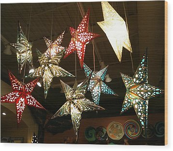 Wood Print featuring the photograph Wish Upon A Star by Shawn Hughes