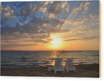 Wish You Were Here - Cyprus Wood Print
