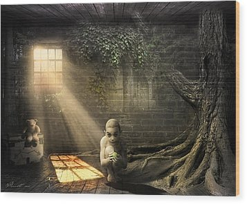 Wishing Play Room Wood Print by Svetlana Sewell