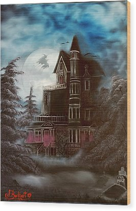 Witches Hollow 2011 Wood Print by Shawna Burkhart