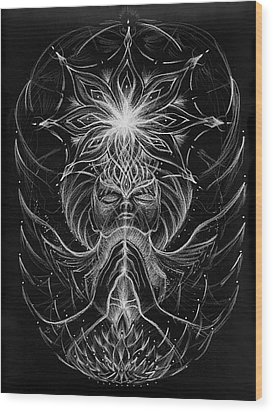 Withinfinite Gratitude Wood Print by Jerod  Kytah
