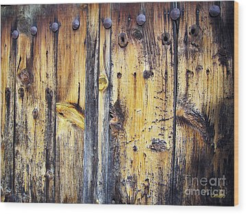 Wood Wood Print by Eena Bo