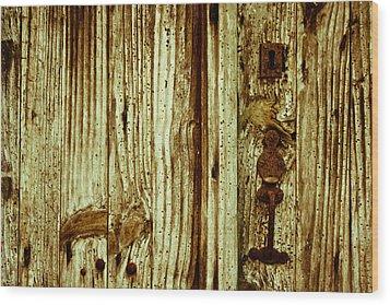 Wood Grain Wood Print by Georgia Fowler