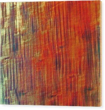 Wood Tones Wood Print by James Mancini Heath