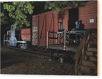 Working On The Railroad 2 Wood Print