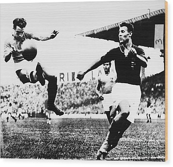 World Cup, 1938 Wood Print by Granger