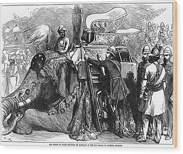 World History: India Wood Print by Granger