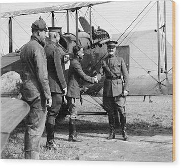 World War I, Captain Strus Second Wood Print by Everett
