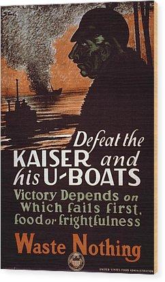 World War I, Poster Showing A Dark Wood Print by Everett