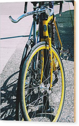 Worldly Cycle Wood Print by JAMART Photography