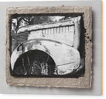Wreck 2 Wood Print by Mauro Celotti