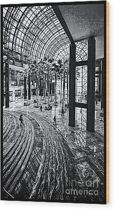 Wood Print featuring the photograph Wtc Battery City Nyc by Jack Torcello