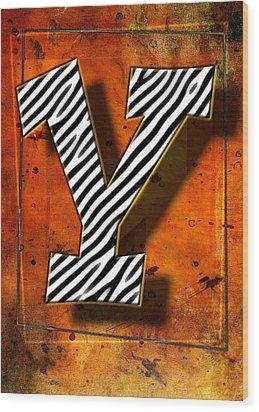 Y Wood Print by Mauro Celotti