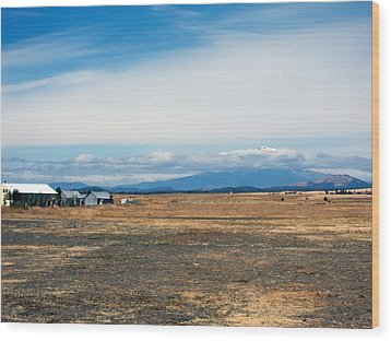Yakima Valley Wood Print by Tim Perry