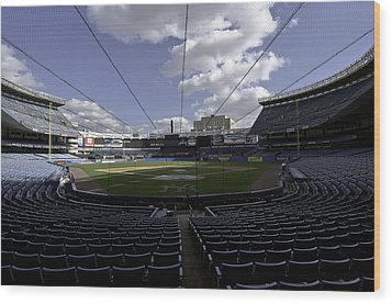 Wood Print featuring the photograph Yankee Stadium  by Paul Plaine