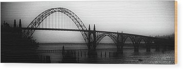 Yaquina Bay Wood Print
