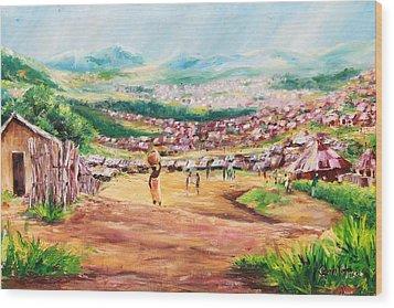 Yesteryears Wood Print by Uly Ogwah