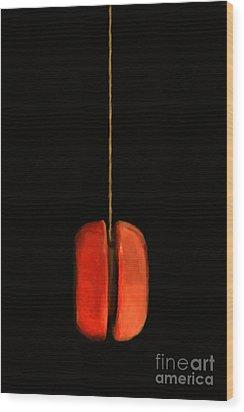 Yo-yo - Painterly Wood Print by Wingsdomain Art and Photography