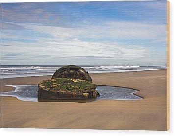 Yorkshire Coast Wood Print by Svetlana Sewell