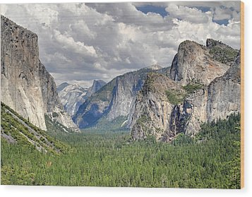 Yosemite Valley Wood Print by Pierre Leclerc Photography