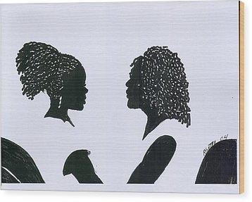 You Can Do It Wood Print by Rhetta Hughes