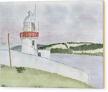 Youghal Lighthouse Wood Print