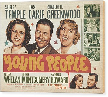 Young People, Shirley Temple, Jack Wood Print by Everett