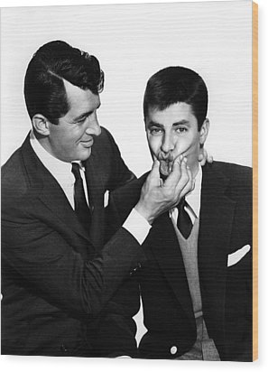 Youre Never Too Young, Dean Martin Wood Print by Everett