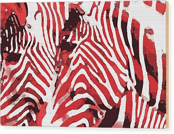 Z-bras Wood Print