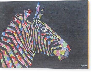 Zebra Wood Print by Rejeena Niaz