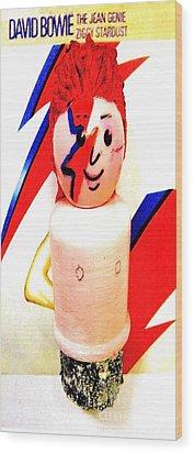 Ziggy Wood Print by Ricky Sencion