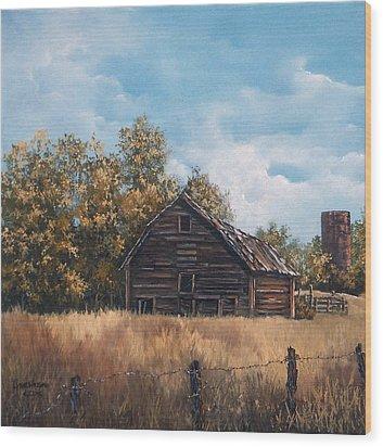 Zoe's Barn Wood Print
