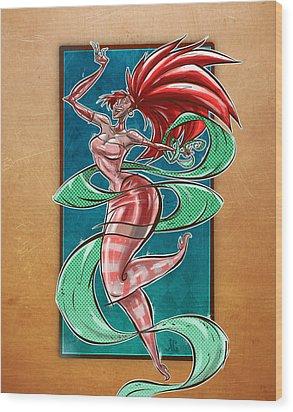Zola Wood Print by Jayson Green
