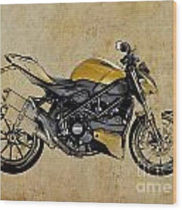 Ducati Streetfighter 848 2012 Wood Print