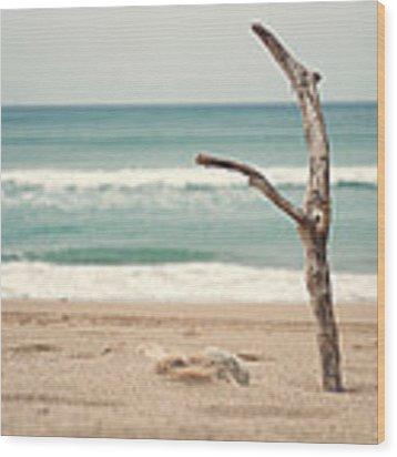 Lone Tree Wood Print by Yew Kwang