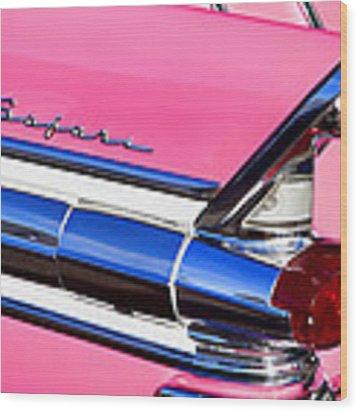 1957 Pontiac Safari Two-door Wagon Wood Print