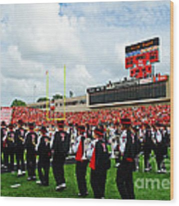 The Going Band From Raiderland Wood Print by Mae Wertz