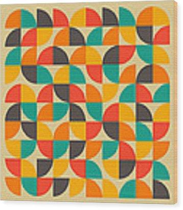 25 Percent #1 Wood Print