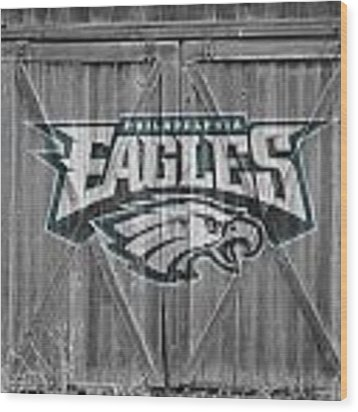 Philadelphia Eagles Wood Print by Joe Hamilton