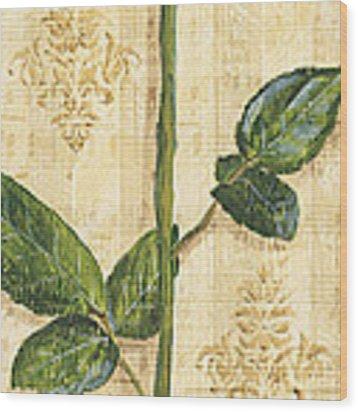 Allie's Rose Sonata 1 Wood Print by Debbie DeWitt