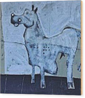 Animalia Equos No.7  Wood Print