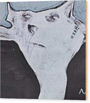 Animalia Feles No. 5 Wood Print