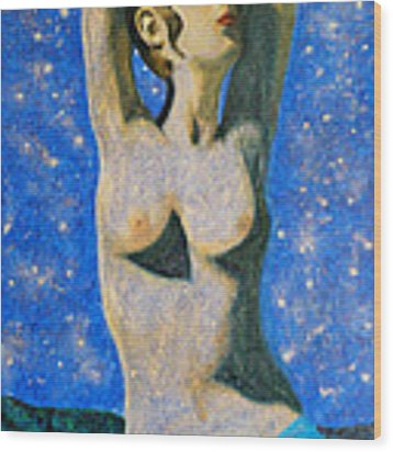 Aphrodite  Wood Print by Augusta Stylianou