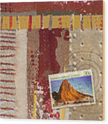 Australia Antarctic Territory Wood Print